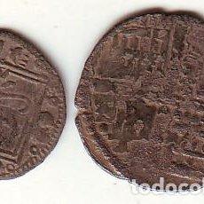 Monedas medievales: ALFONSO X EL SABIO DINERO Y OBOLO. Lote 161822398