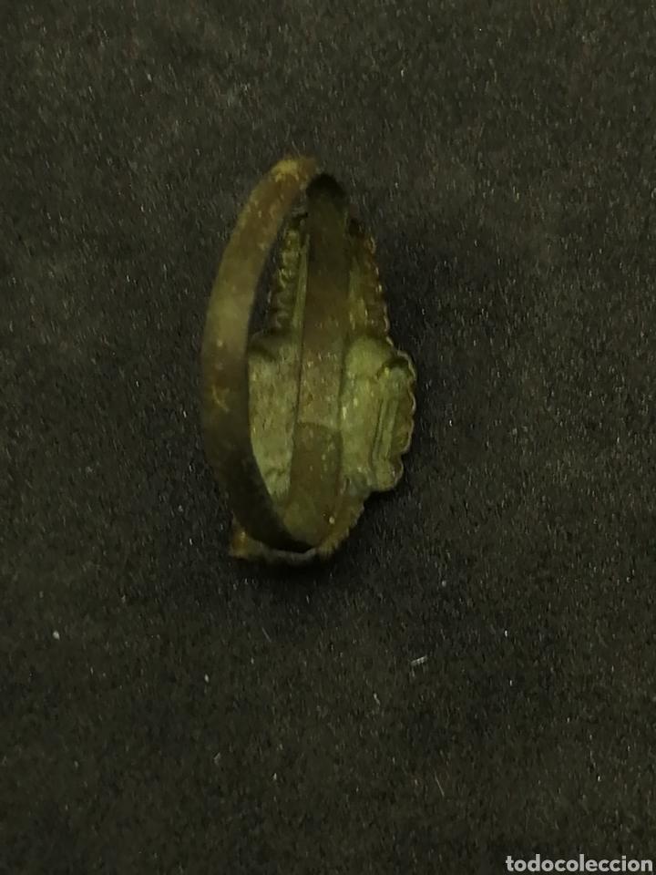 Monedas medievales: Anillo medieval con rombo muy conservado - Foto 4 - 163908158