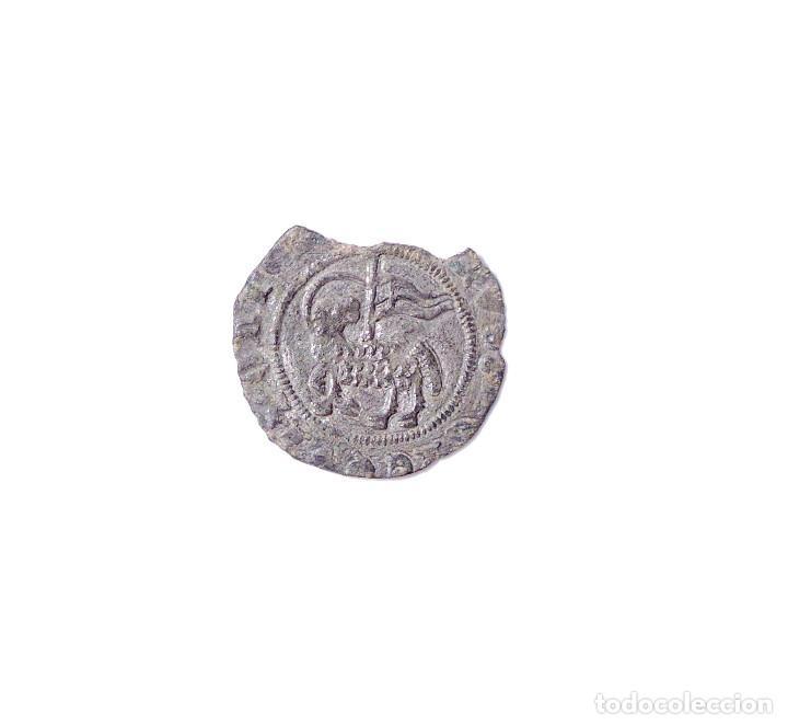 JUAN I BLANCA DEL AGNUS DEI. BURGOS. BS. (Numismática - Medievales - Castilla y León)
