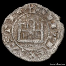Monedas medievales: ALFONSO X (1252-1284) DINERO PIETRO, CRECIENTE INVERTIDA. Lote 173069252