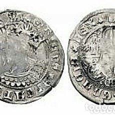 Monedas medievales: BELLO 1 REAL PLATA ENRIQUE IV 1454-1474 TIPO BUSTO REY CASTILLA LEON, SEGOVIA Y CON SU CERTIFICADO. Lote 173288983