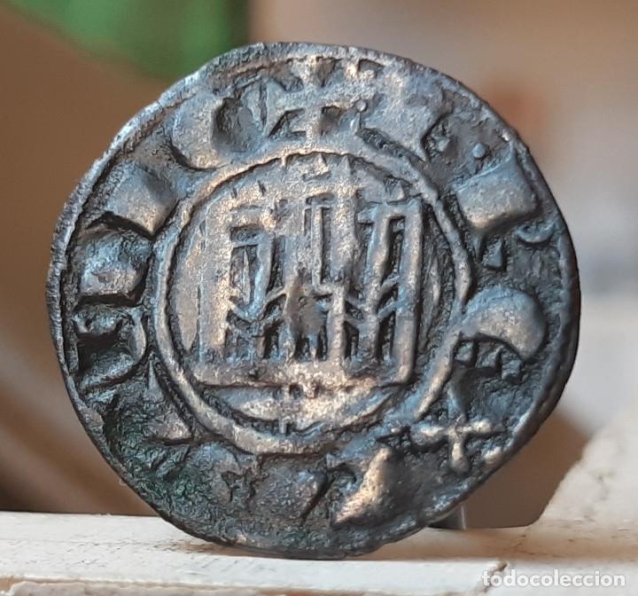 FERNANDO IV PEPION VELLON SEVILLA (Numismática - Medievales - Castilla y León)