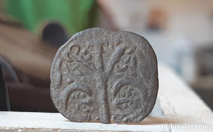 ALFONSO IX DINERO VELLON CECA: ESTRELLA. ESCASA (Numismática - Medievales - Castilla y León)