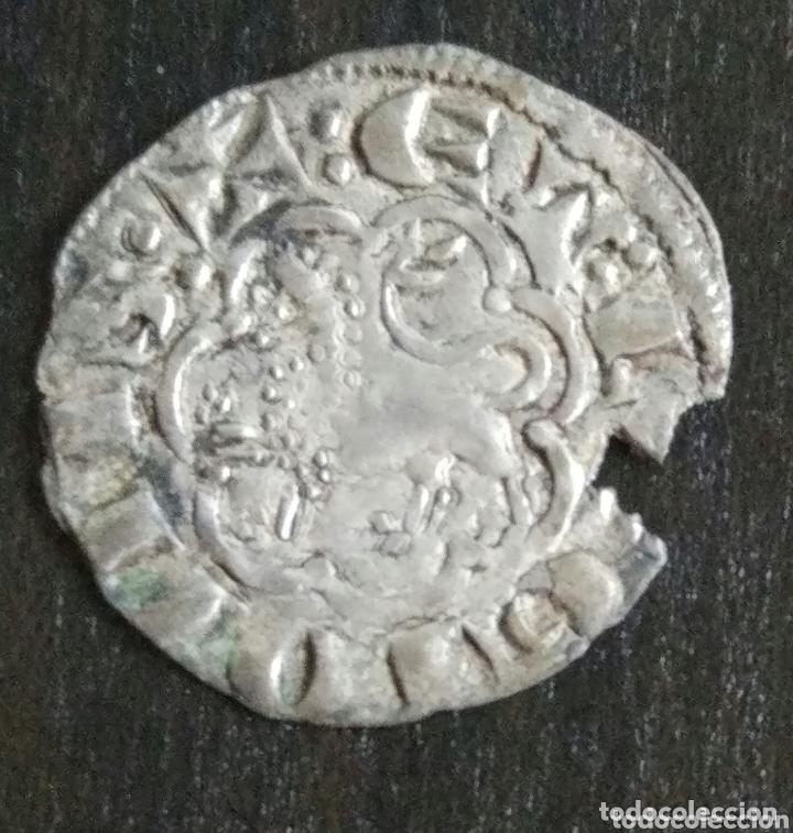 Monedas medievales: Noven de vellón Alfonso X (1252-1284) cerca de León - Foto 2 - 174038725