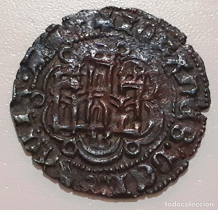 Monedas medievales: JUAN II DE CASTILLA. BLANCA DE VELLON DE BURGOS B - Foto 2 - 174067085