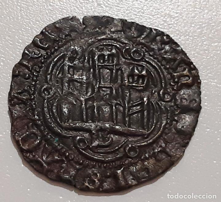 JUAN II DE CASTILLA. BLANCA DE VELLON DE BURGOS B (Numismática - Medievales - Castilla y León)