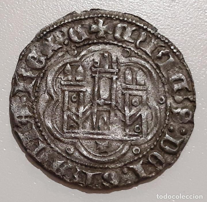 ENRIQUE III BONITA BLANCA. VELLON. CECA TOLEDO (Numismática - Medievales - Castilla y León)