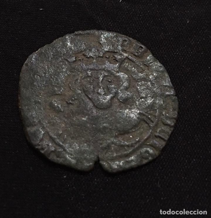 REAL DE VELLÓN ENRIQUE II VARIANTE SIN CECA (Numismática - Medievales - Castilla y León)