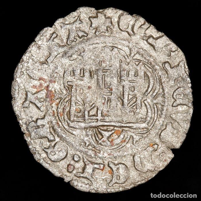BLANCA DE ENRIQUE III DE CASTILLA.. CUENCA. VELLÓN RICO. M271 (Numismática - Medievales - Castilla y León)