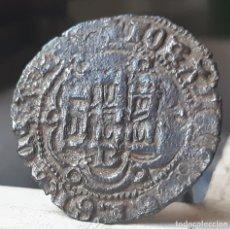 Monedas medievales: JUAN II DE CASTILLA. BLANCA DE VELLON DE BURGOS B. Lote 175618145