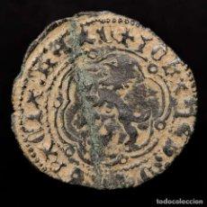 Monedas medievales: JUAN II DE CASTILLA (1406-1454). BLANCA EN VELLÓN. BURGOS. (7494). Lote 176922287