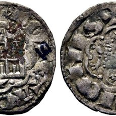 Monedas medievales: ALFONSO X. CUENCA. NOVEN. 1252-58. SUCIA. NÚMERO EN TINTA DE COLECCIÓN. EBC. Lote 176949994
