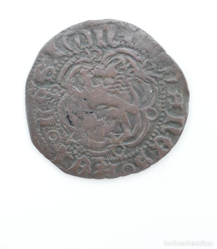 Monedas medievales: BLANCA DE JUAN II. CECA **SEVILLA** - Foto 2 - 177701162