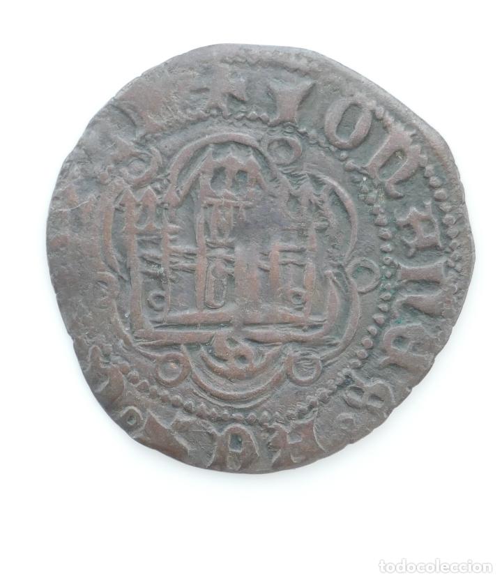 BLANCA DE JUAN II. CECA **SEVILLA** (Numismática - Medievales - Castilla y León)