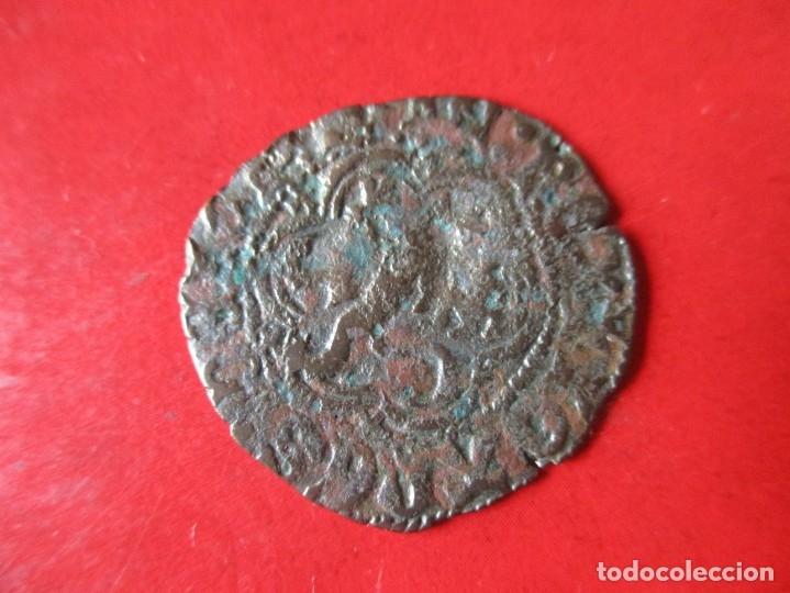 Monedas medievales: Blanca de juan II de castilla y Leon. 1406/1454. #mn - Foto 2 - 178564941
