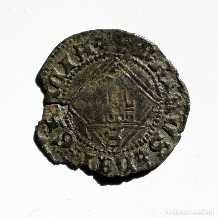 BLANCA ROMBO ENRIQUE IV SEVILLA 1454-1474 (Numismática - Medievales - Castilla y León)