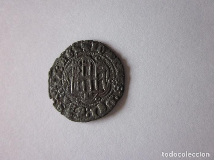 BLANCA DE JUAN II. BURGOS. LEYENDA DOBLE. (Numismática - Medievales - Castilla y León)