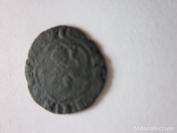 Monedas medievales: Media blanca de Enrique III. Sevilla. - Foto 2 - 181190923