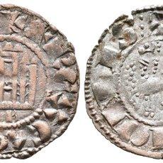 Moedas medievais: *** MUY BONITO DINERO DE FERNANDO IV (1295-1312) DE BURGOS. TRES PUNTOS AL FINAL DE LA LEYENDA ***. Lote 181495692