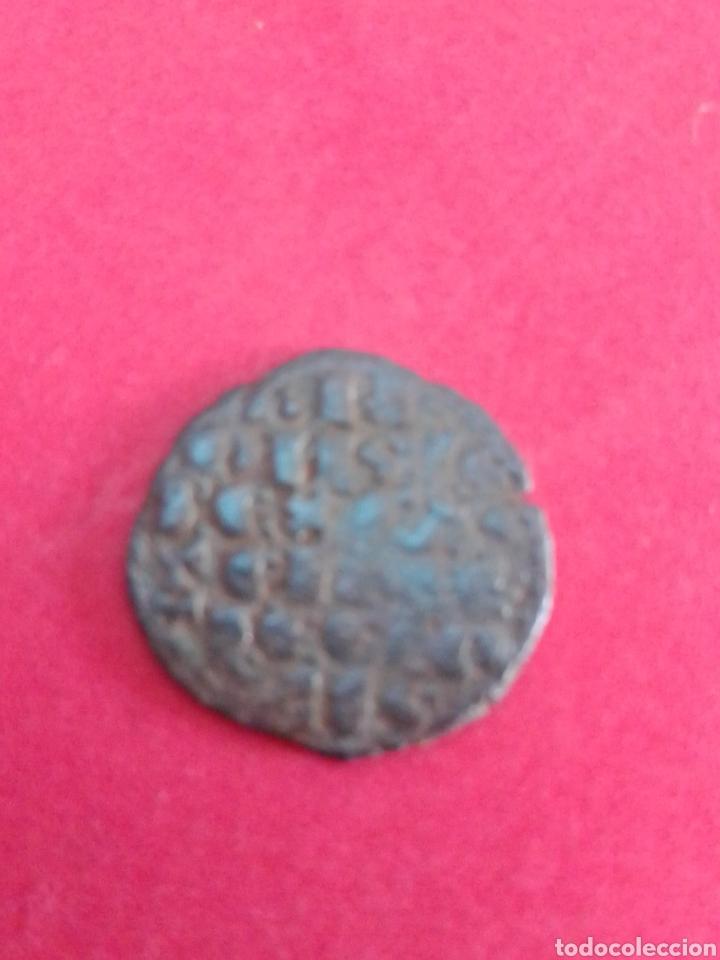 Monedas medievales: ALFONSO X. DINERO DE LAS SEIS LINEAS. MARCA ROEL. - Foto 2 - 182069542