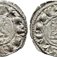Monedas medievales: FERNANDO IV. BURGOS. PEPIÓN. 1295-1312. ACUÑACIÓN ALGO FLOJA. EBC+. Lote 183439471
