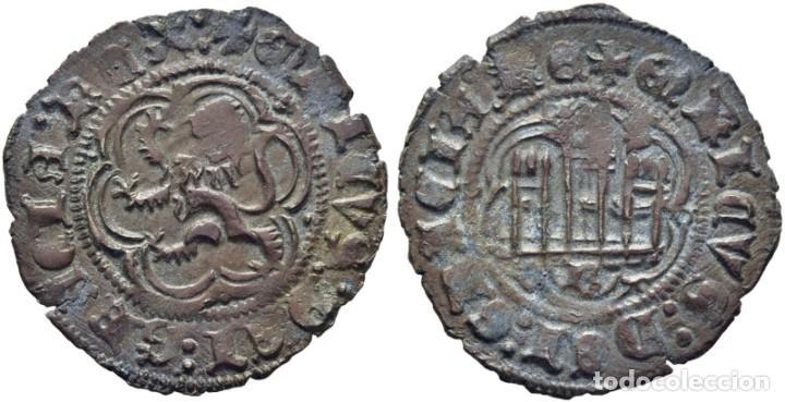 ENRIQUE III. BURGOS. BLANCA. 1390-1406. EBC (Numismática - Medievales - Castilla y León)