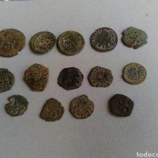 Monedas medievales: LOTE DE MONEDAS DEL MEDIEVO. Lote 184607035