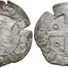 Monedas medievales: *** ESCASO CRUZADO DE ENRIQUE II (1368-1379) SEVILLA. A. BURGOS 473.1. ***. Lote 185891728