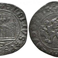 Monedas medievales: *** RARO 1 MARAVEDÍ DE ENRIQUE IV (1454-1474) SEVILLA. A. BURGOS 806 ***. Lote 185892032