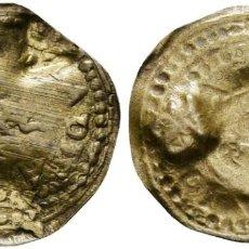 Monedas medievales: *** SALAS DE PALLARS. SENYAL INCUSA CON DOS CONTRAMARCAS DE SA. LATÓN ***. Lote 185892508