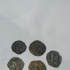 Monedas medievales: LOTE DE MONEDAS MEDIEVALES. Lote 186215313