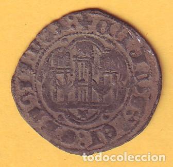 BLANCA DE ENRIQUE III CECA DE TOLEDO (Numismática - Medievales - Castilla y León)