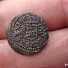 Monedas medievales: ESCASOS 4 MARAVEDIS DE FELIPE-IV BURGOS 1663. Lote 189117697