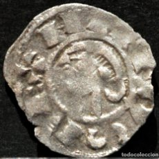 Monedas medievales: DINERO DE TOLEDO ALFONSO I EL BATALLADOR VELLON PLATA ESPAÑA . Lote 189733783