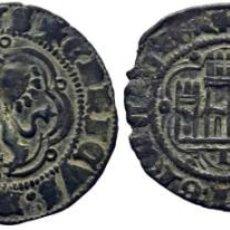 Monedas medievales: LOTE DE 2 PIEZAS. CASTILLA Y LEÓN. ENRIQUE III. BURGOS. BLANCA. 1390-1406. EBC-. Lote 189900321