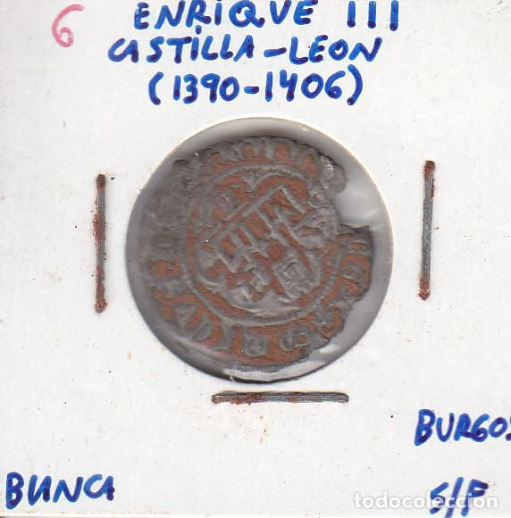 ENRIQUE III - BLANCA - BURGOS (Numismática - Medievales - Castilla y León)