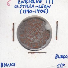 Monedas medievales: ENRIQUE III - BLANCA - BURGOS. Lote 190455931