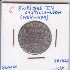 Monedas medievales: ENRIQUE IV - BLANCA. Lote 190591286