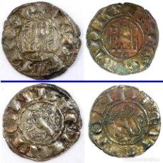 Monedas medievales: HISPANIA MEDIEVAL - FERNANDO IV ( 1295-1312 ) LOTE: 2 MONEDAS PEPION CECA DE BURGOS. Lote 190894128