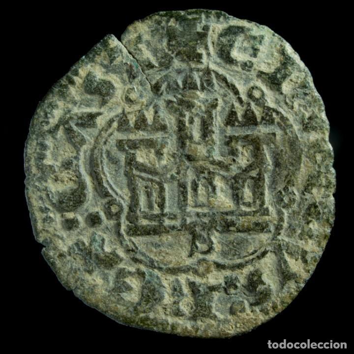 ENRIQUE III, 1/2 BLANCA DE SEVILLA (1390-1406) - 20 MM / 1.1 GR. (Numismática - Medievales - Castilla y León)