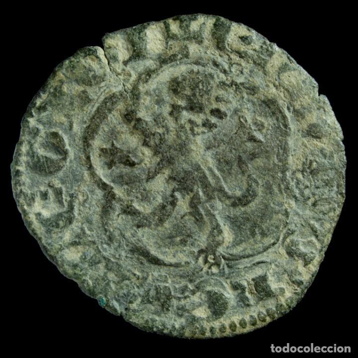 Monedas medievales: Enrique III, 1/2 Blanca de Sevilla (1390-1406) - 20 mm / 1.1 gr. - Foto 2 - 190905171