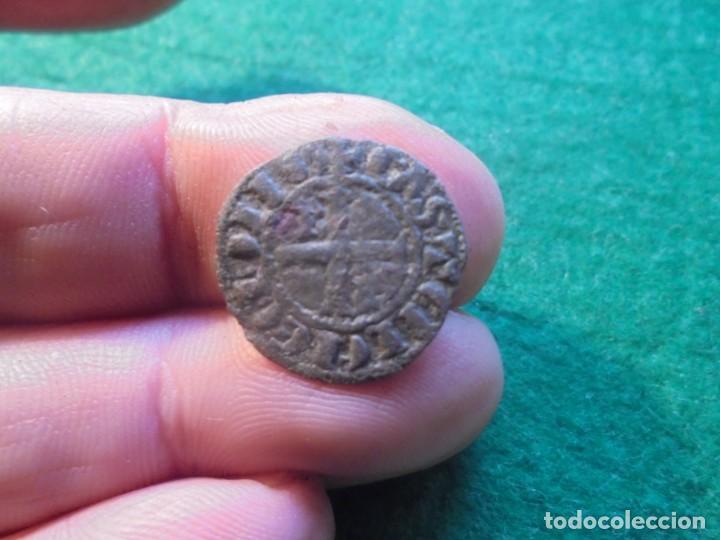 Monedas medievales: bonito y escaso seisen de Sancho IV , ceca de Burgos - Foto 2 - 193918200