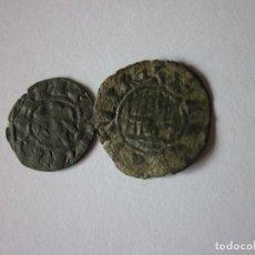 Monedas medievales: DINERO DE ALFONSO I, TOLEDO Y PEPIÓN DE FERNANDO IV, SEGOVIA.. Lote 194299228