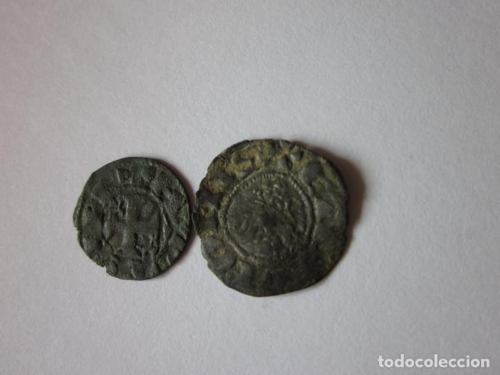 Monedas medievales: Dinero de Alfonso I, Toledo y Pepión de Fernando IV, Segovia. - Foto 2 - 194299228