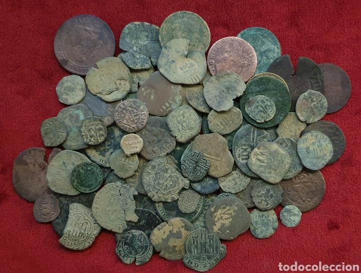 LOTE MONEDAS ANTIGUAS (Numismática - Medievales - Castilla y León)