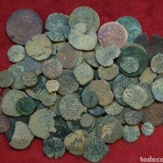 Monedas medievales: LOTE MONEDAS ANTIGUAS. Lote 194406315