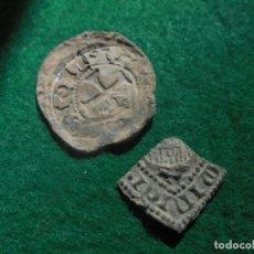 Monedas medievales: DOS INTERESANTES PLOMOS MEDIEVALES A IDENTIFICAR . Lote 194928277