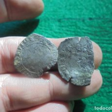 Monedas medievales: 2 CRUZADOS DE ENRIQUE II . Lote 195087923