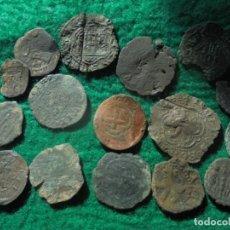 Monedas medievales: LOTE DE MONEDAS DE TODAS LAS EPOCAS . Lote 195092665