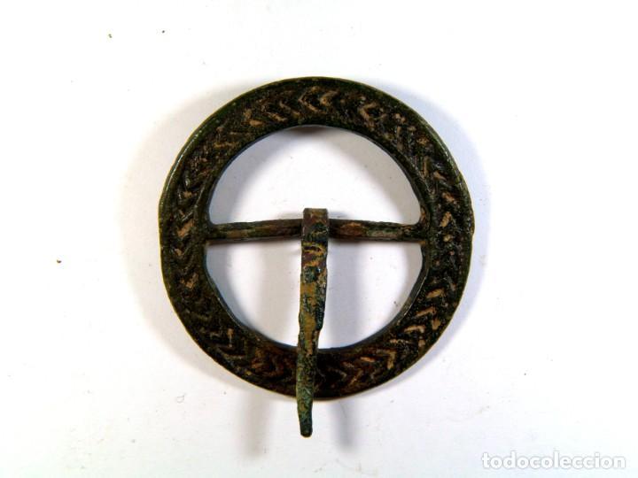 BONITA HEBILLA MEDIEVAL (Numismática - Medievales - Castilla y León)